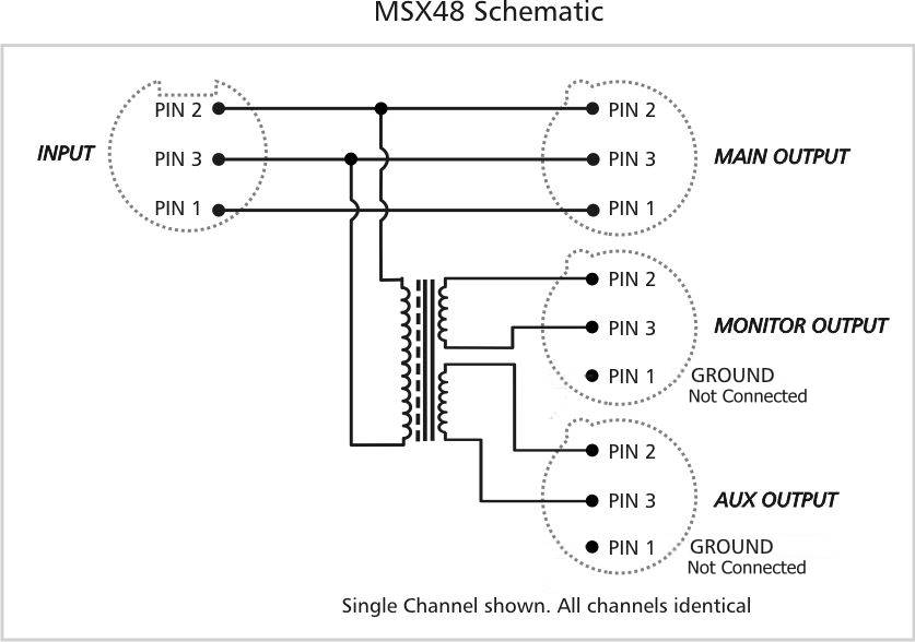 msx48schematic arx msx 48 mic line splitter Simple Wiring Diagrams at crackthecode.co